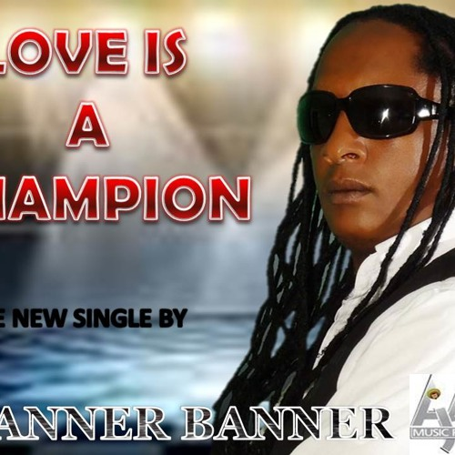 SPANNER BANNER - LOVE IS A CHAMPION