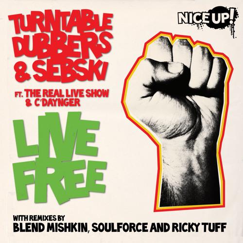Turntable Dubbers & Sebski ft. The Real Live Show & C'Daynger - Live Free (128kbps)