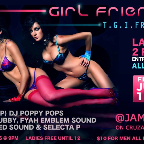 T.G.I.FRIDAYS @JAMTIME JUNE 14TH COMMERCIAL GIRL FRIENDS
