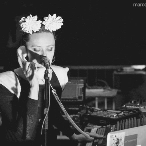 Dasha Rush Experimental LIVE act (EXTRACT) at SSF Festival . Padua. May 2013