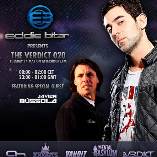 Eddie Bitar - The Verdict 020 on Afterhours.fm with Javier Bussola Guest Mix