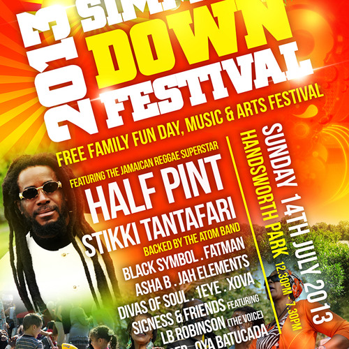 Simmer Down Festival ad