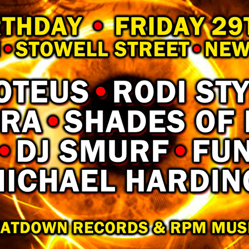 DJ Smurf @ Detox. Newcastle, England. (oldskool techno). 29-03-2013