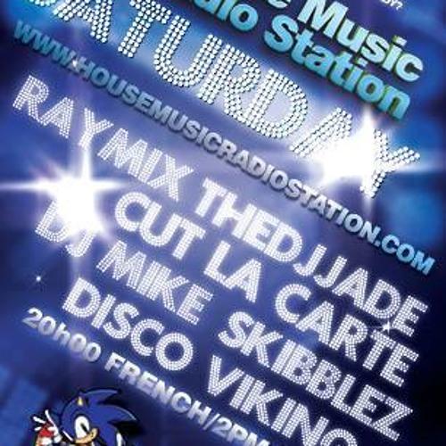 DJ Cut La Carte´s  Disco House Live Set -  House Music Radio Station