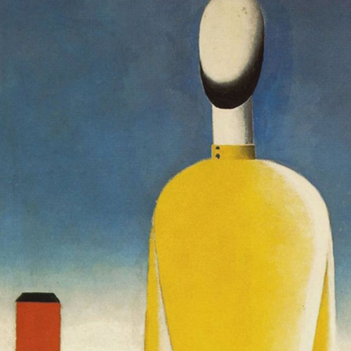 Alexey Logunov - 'Man in a yellow shirt' (after K. Malevich)
