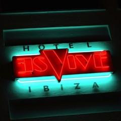 Ed Phair  HOTEL ES VIVE IBIZA JUNE 2013