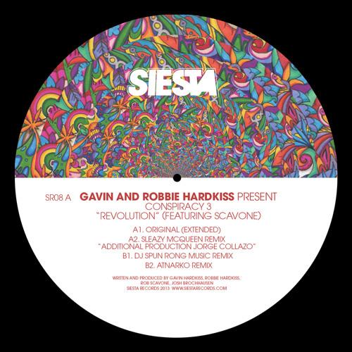Gavin & Robbie Hardkiss Revolution (Sleazy McQueenRemix) Siesta Records