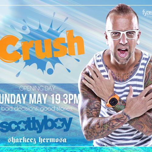 DJ Scotty Boy Live at Sharkeez Hermosa Beach (Crush Sundays) 5/19/2013