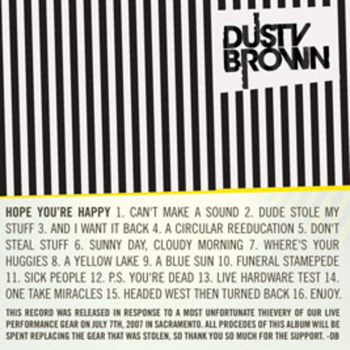 Dusty Brown - Can't Make a Sound (Elliott Smith Cover)