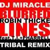 Robin Thicke feat. T.I. & Pharrell - Blurred lines (djmiracle's tribal mix) FREE...