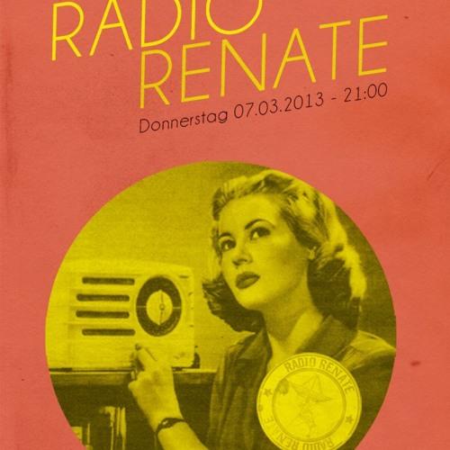 Radio Renate - Season 02 Episode 03 - 07.03.2013 - Ernesto Ferreyra + Beaner