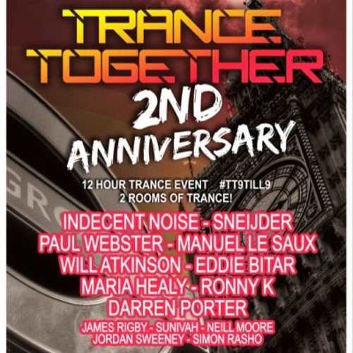 Paul Webster Live at Trance Together 2nd Birthday - London June 8th 2013