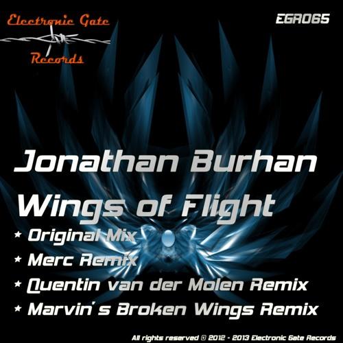 EGR065 : Jonathan Burhan - Wings of Flight (Quentin van Der Molen Remix)