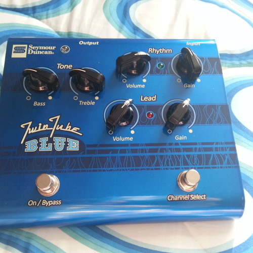 Seymour Duncan Twin Tube Blue Sample