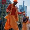 Harinamananda Das on the Friday night Street Party