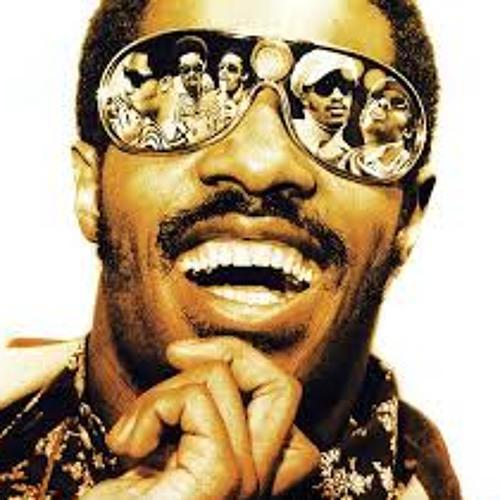 Portrait de star Stevie Wonder