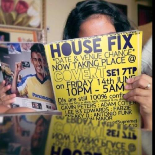Antonio Funk Live Recording || House Fix || Covert, London || 140613