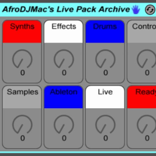 Music Made w/ AfroDJMac Ableton Packs