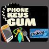 Phone Keys Gum Track