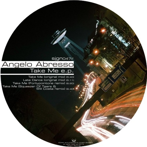 [SJGN047] Angelo Abresso - Late Dance (Original Mix)