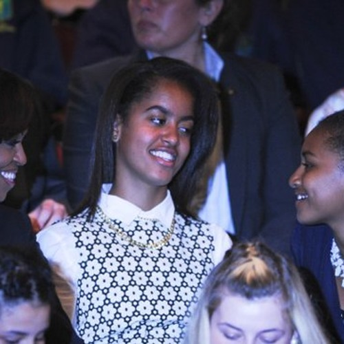 Michelle and girls wow the crowds in Dublin