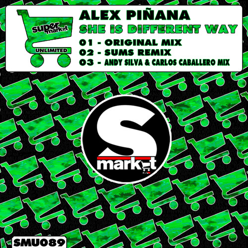 Alex Pinaña - She is Different Way (Sums Remix)