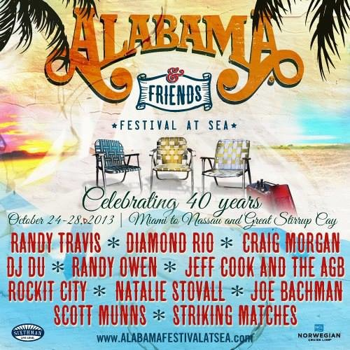 A message from Randy Owen - Alabama Festival at Sea!