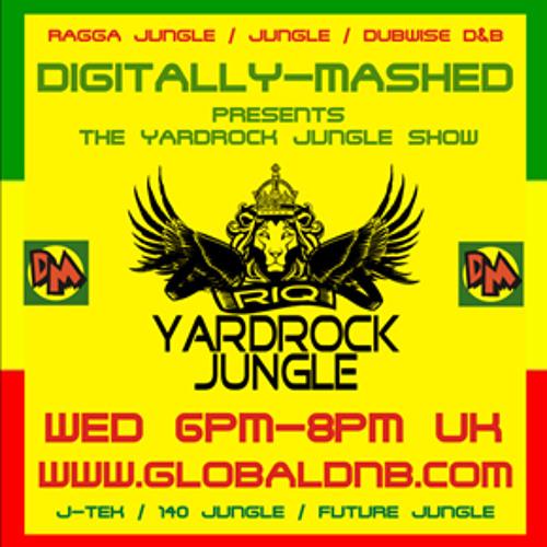 Yardrock Jungle Show live 12 06 13 - Paul Ashmore ( Audio Animals Remix )