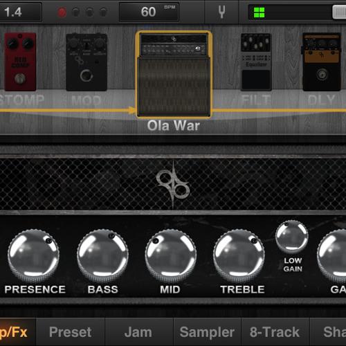 JamUp Pro Signature Ola War Amp