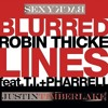 Robin Thicke vs Justin Timberlake - Sexy Blurrred Lines