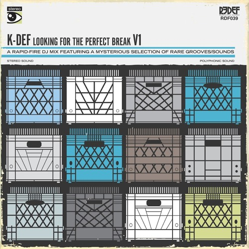 K-DEF - Looking For The Perfect Break, V1 - SIDE A (Vinyl Now Available)