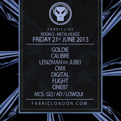 Digital - Metalheadz Fabric mix