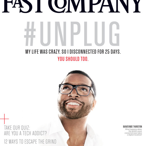 #TheConfessional: @Baratunde performs enhanced audio version of #Unplug Fast Company cover story