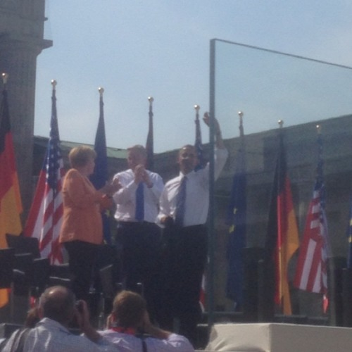 Obama's 2013 Berlin Speech at Pariser Platz