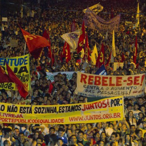 Mass Protests Sweep Brazil in Uproar over Public Services Cuts & High Costs of World Cup, Olympics