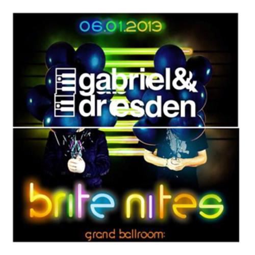 Gabriel & Dresden Live at Webster Hall, NYC 06-01-13