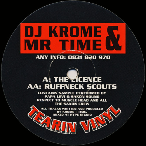 Krome & Time - The Licence (Billy Daniel Bunter & Sanxion Back To 12 Dalston Lane Rmx)