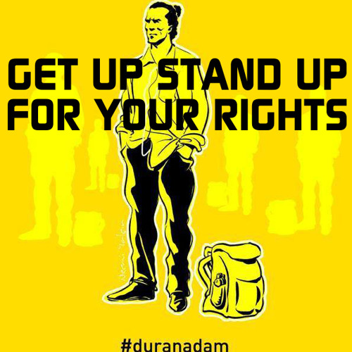 Get up, stand up for your rights-Danna Leese mash up