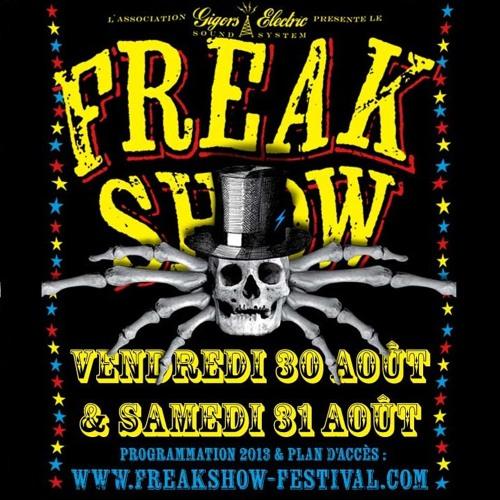 ROCK A LA CASBAH n°419 - Freakshow Festival 2013