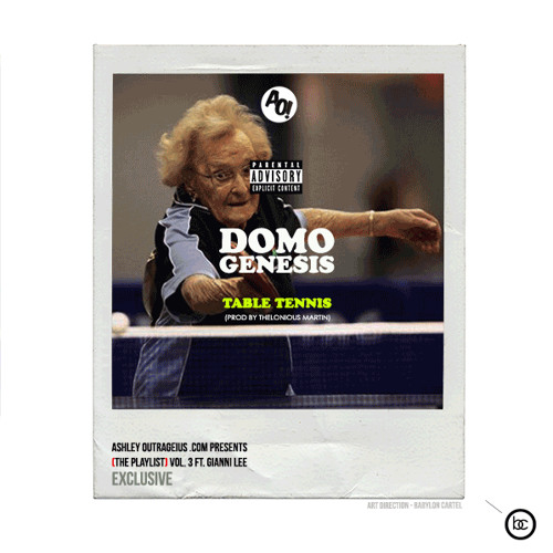 Domo Genesis - Table Tennis [AO! Exclusive]