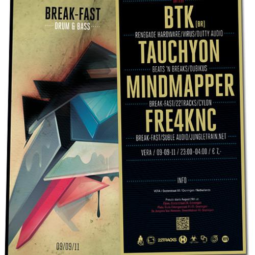 BTK live set @ Break-Fast, Vera Groningen - NL 09.09.11