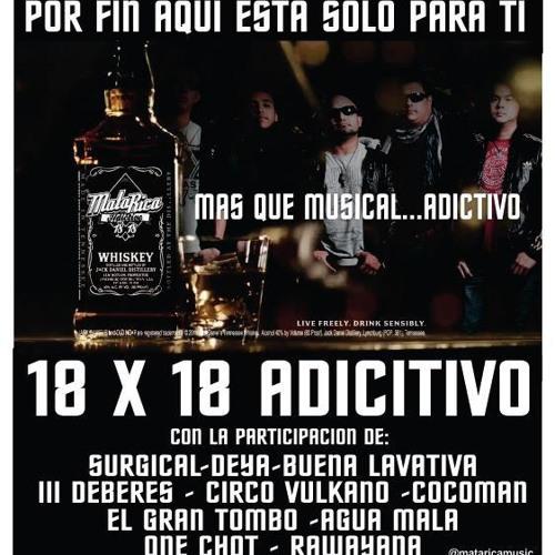 Mata Rica - Solo espero la noche - 18x18 Adictivo (versión Radio)