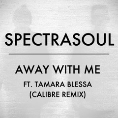 SpectraSoul - Away With Me ft. Tamara Blessa (Calibre Remix)
