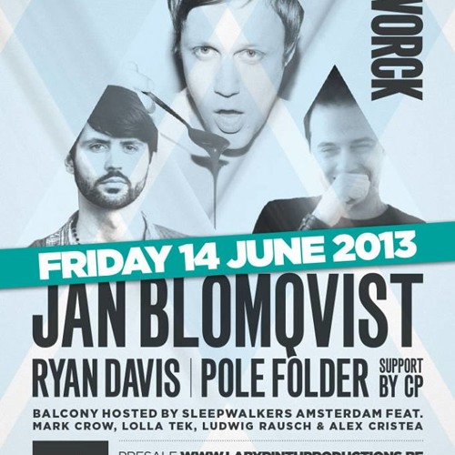 Pole Folder - Reworck Label night at Café d'Anvers - June 2013