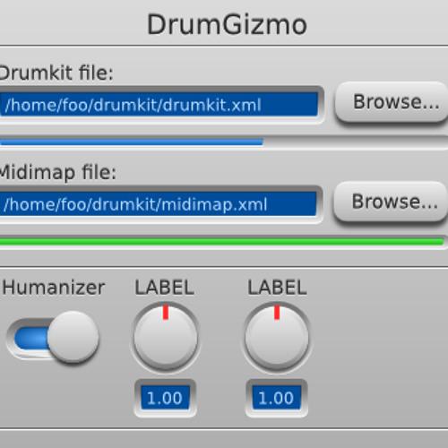 DrumGizmo DRSKit-basic Test Pan