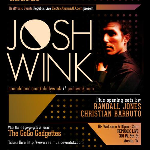 Josh Wink / Randall Jones / Christian Barbuto in Austin Texas 6/20/13