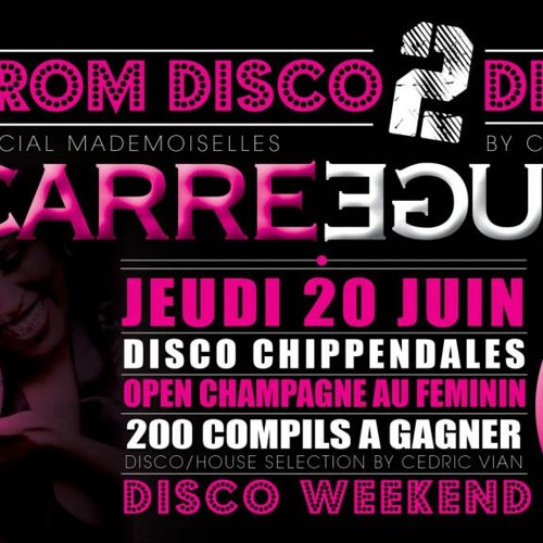 CARRE ROUGE - FROM DISCO TO NU DISCO TO DISCO ... HOUSE - FREE DOWNLOAD