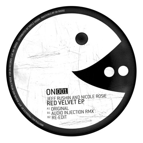 Jeff Rushin & Nicole Rosie - Red Velvet EP - ON001 (Including Audio Injection rmx)