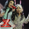 Fatin Feat Rossa -  Material Girl (Live In X Factor Indonesia)