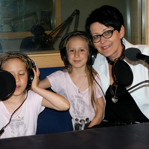 Zwyciężczynie radiowego konkursu z okazji Dnia Dziecka, w Dublin City FM (16.06.2013)